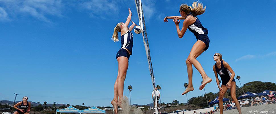 Сексуальные девушки пляжный волейбол
