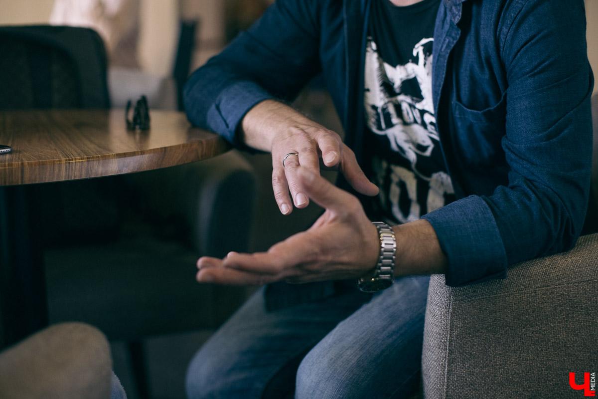 Юрий Круценко рассказывает о том, как попасть в кино, как вжиться в роль, и сколько на самом деле зарабатывают актеры