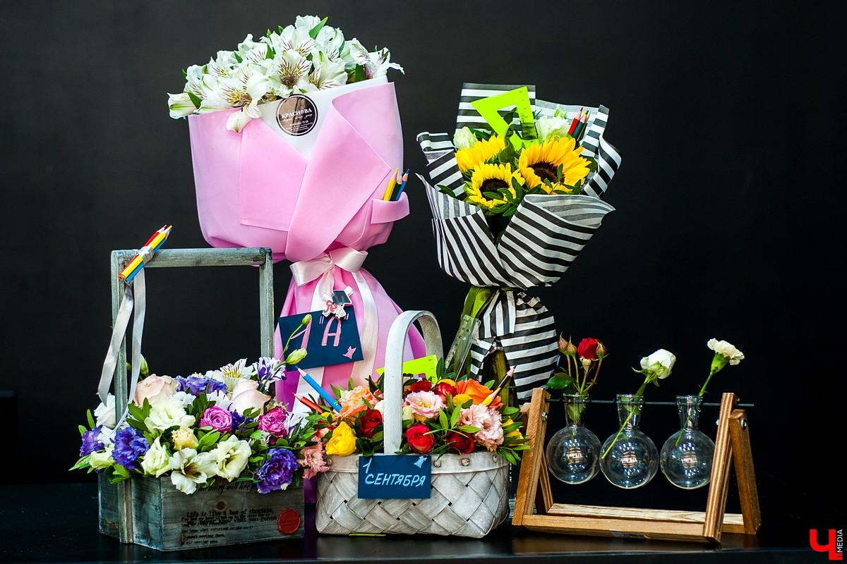 Роскошные букеты, украшения для букеты к 1 сентября нижний новгород