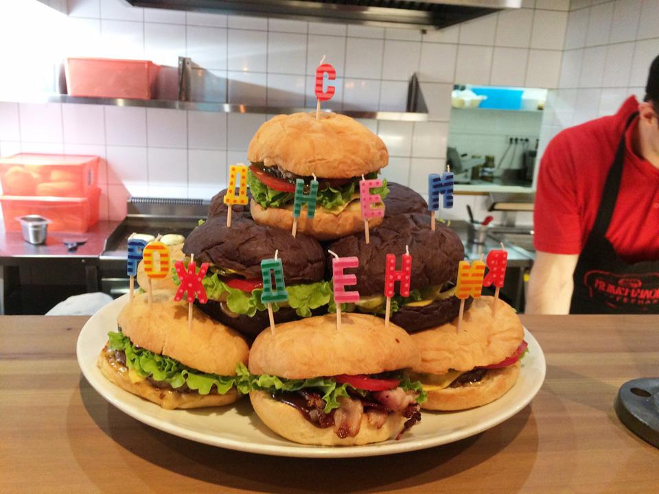 Торт Гамбургер - пошаговый рецепт с фото на Повар. ру