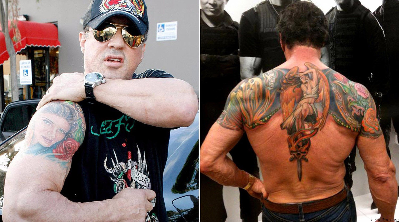 Есть ли у сталлоне татуировки интервью актерами фильма сумерки
