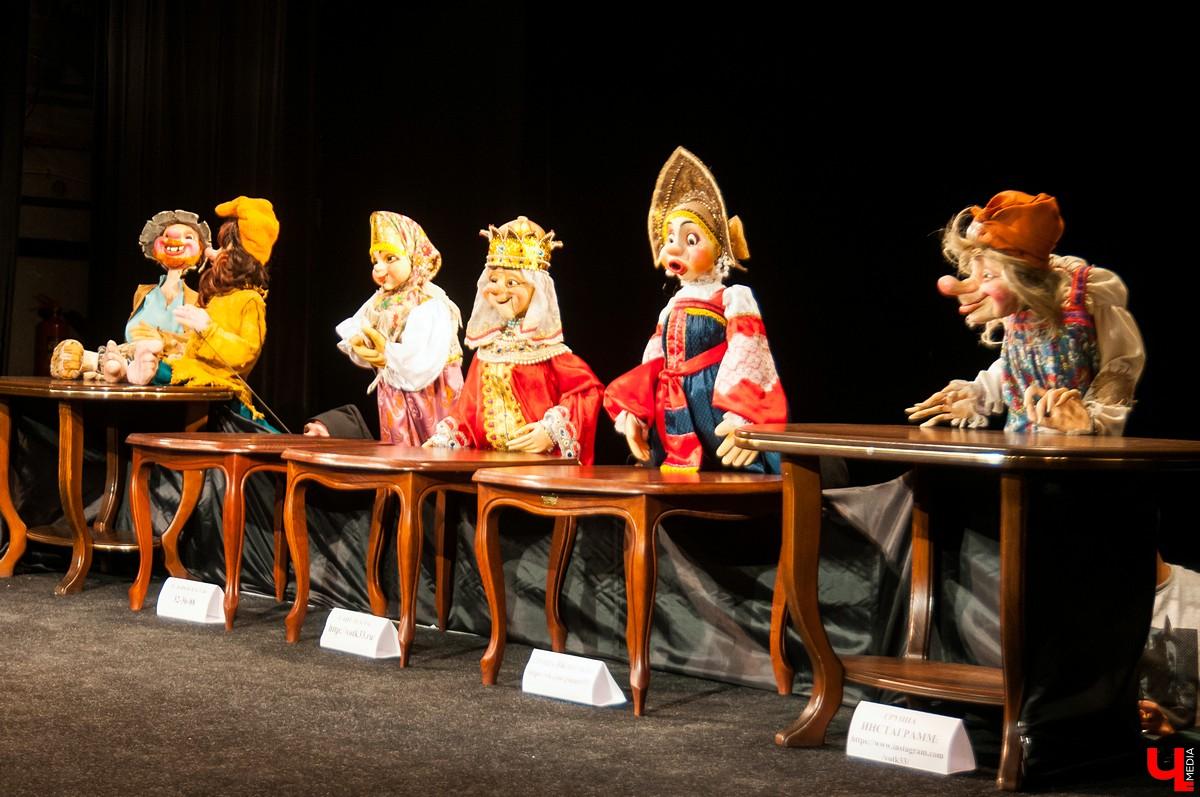 Пресс-конференция во Владимирском областном театре кукол