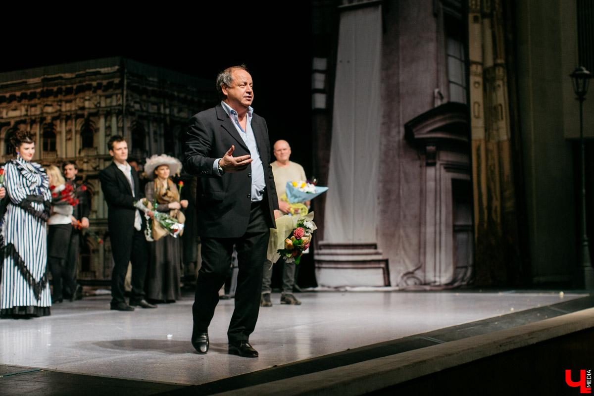 """Премьера """"Доходного места"""" прошла во Владимире с аншлагом, и пробудила у зрителей неприятные ассоциации"""
